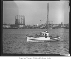 Boat Enda on Lake Union, Seattle, June 11, 1938