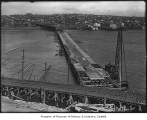 Stone Avenue Bridge under construction, Seattle, ca. 1911