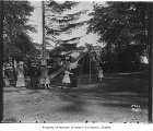 Girls playing on slide, Seattle, ca. 1910
