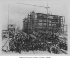 Workers at Ames Drydock, Seattle, n.d.