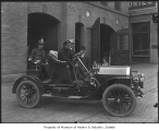 Fire Chief's car, Seattle, ca. 1910