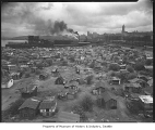Hooverville, Seattle, March 1933