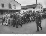 German prisoners at Fort Lawton, Seattle, 1945