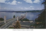 Lake Washington Floating Bridge, Seattle, ca. 1953