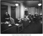 Northwest Mutual Fire Insurance interior, Seattle, March 19, 1942