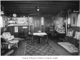 Houseboat interior, Seattle, 1905