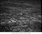 Aerial of North Bend looking northeast, 1946