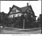 House on Capitol Hill, Seattle, 1945