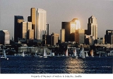 Lake Union and downtown Seattle, 1992
