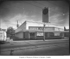 A & P supermarket, Seattle, 1939