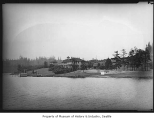 Homes on shore of Lake Washington, June 21, 1927