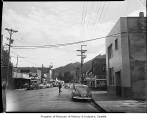 Downtown street in Issaquah, 1949