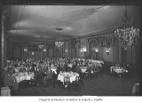 Banquet in Spanish Ballroom of Olympic Hotel, Seattle, 1949