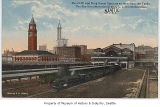 King Street Station, Smith Tower, and Oregon-Washington Station from south, Seattle, n.d.