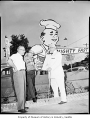 Colonel Sanders at Gil's Drive-in, Seattle, June 30, 1959