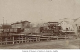 Seattle, Lake Shore & Eastern Railway depot, Seattle, ca. 1886