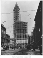 Smith Tower under construction, Seattle, ca. 1913