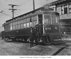 Streetcar #670, Seattle, ca. 1916