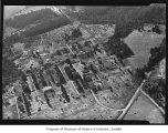 Aerial of Hollywood Chicken Farm, Woodinville, 1940