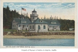 Alki Point lighthouse, Seattle, ca. 1925
