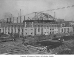 King Street Station under construction, Seattle, ca. 1905
