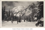 Skiers at Snoqualmie Pass, n.d.