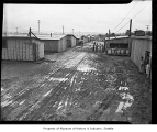 Barracks at Camp Harmony, Puyallup, 1942