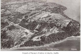 Aerial of Fort Lawton from northwest, Seattle, ca. 1940