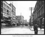 First and Spring, Seattle, 1912