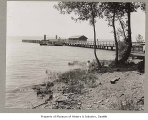 Medina ferry dock, Medina, May 30, 1914