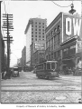 Second and Yesler, Seattle, 1905