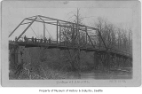Bridge over White River, Alvord's, ca. 1902