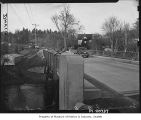 Bridge over Sammamish River, Bothell, 1947