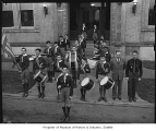 Boy Scout drum and bugle corps, Seattle, 1942