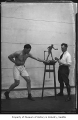 Jack Dempsey and Alonzo Victor Lewis, Seattle, ca. 1923