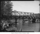 Bridge over Middle Fork of Snoqualmie River, 1948