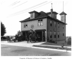 Fire Station No. 13, Seattle, ca, 1915