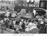 Luna 69 exhibit at Pacific Science Center, Seattle, 1969