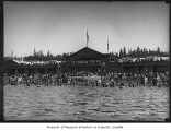 Swimmers at Alki Beach, Seattle, 1912