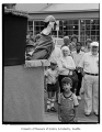 Clay Martin's puppet show at Pike Place Market, Seattle, June 1, 1985