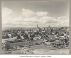 Downtown from Beacon Hill, Seattle, 1942