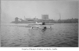 Early Boeing seaplane on Lake Union, Seattle, n.d.