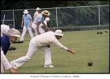 Lawn bowling, probably in Seattle, March 1, 1985
