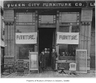 Queen City Furniture Co., Seattle, ca. 1891