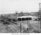 Jefferson Street streetcar barn, Seattle, ca. 1920