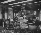 James Clemmer residence interior, Seattle, ca. 1915