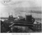 Gas works at Smith Cove, Seattle, ca. 1910
