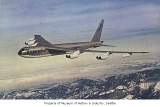B-52 Stratofortress in flight over the Cascade Mountains, n.d.