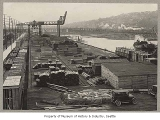 Smith Cove piers, Seattle, ca. 1917