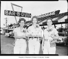 Bar-B-Q Chuck Wagon employees, probably in Seattle, 1960